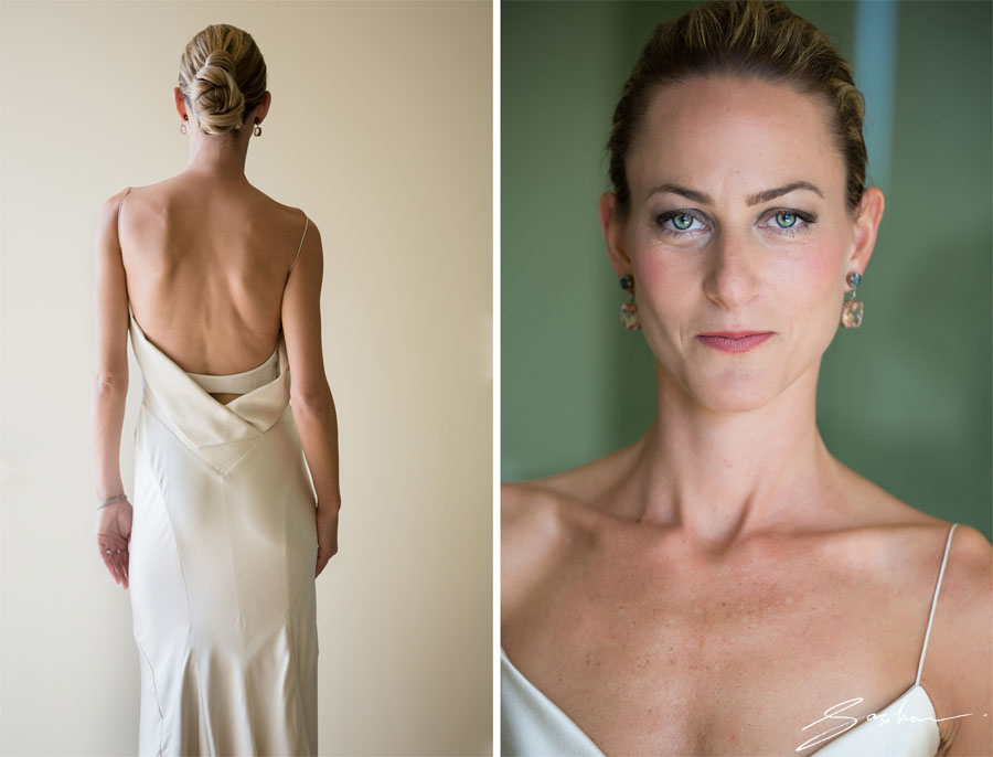 portraits of the bride