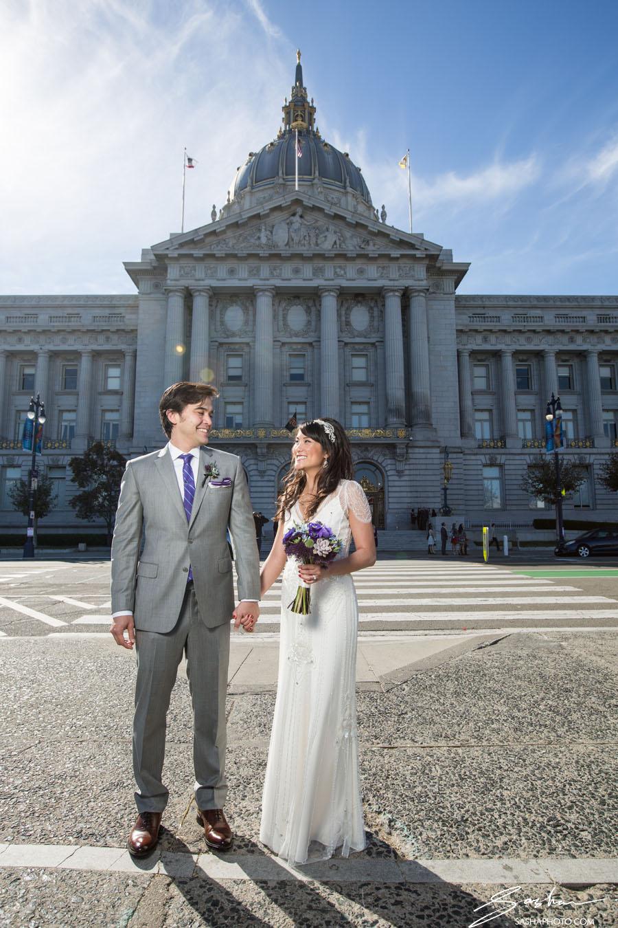 San Francisco City Hall Saturday Wedding Hour Wedding